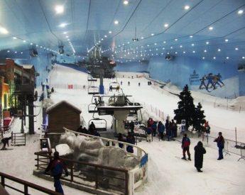 Skiing in Dubai??!!